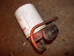 Allis Chalmers C Tractor Engine Motor Oil Filter Canister Mounting Bracket