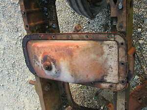 Allis Chalmers C B Tractor Engine Oil Pan