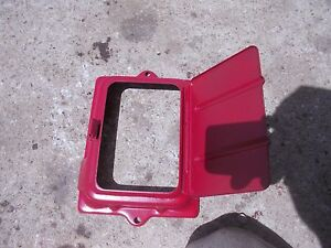 Ford 8n Tractor Original Battery Holder Top Cover Bracket W Lid Hard Find Rare