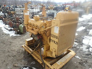 Caterpillar 3208 Diesel Engine Power Unit Video Cat V8 Industrial