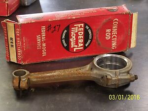 Chevrolet 235 216 Stovebolt Connecting Rod Rebabbitted Nos 030 Undersize
