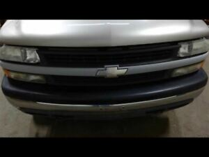 Grille Gray Center Bar Fits 99 02 Silverado 1500 633037