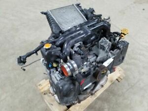 Engine Motor 2 5l Vin 6 6th Digit Dohc Turbo Fits 05 06 Legacy 638600