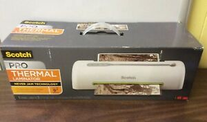 Unused Scotch Thermal Laminator Pro 2 Roller System Tl906 2 Laminating Pouches