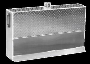 Upright Hydraulic Oil Tank Reservoir 35 Gallons Aluminum W mounting Kit