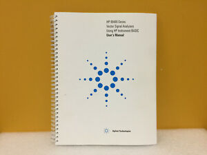 Agilent 89441 90013 89400 Series Vector Signal Analyzers User s Manual