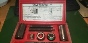 Valve Guide Installation And Puller Tool Set Excellent From Machinist Shop Save
