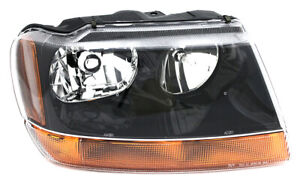 For 1999 2000 2001 Jeep Grand Cherokee laredo Headlight Headlamp Passenger Side