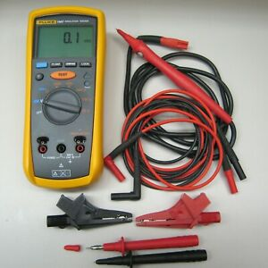 Fluke 1507 Insulation Tester Complete And Mint Condition Free Shipping