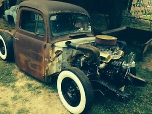 Two 1949 Ford Rat Hot Rod Projects