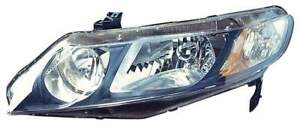 For 2009 2010 2011 Honda Civic Sedan Hybrid Headlight Headlamp Driver Side