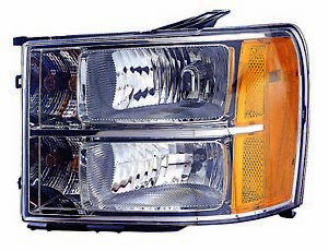 For 2007 2008 2009 2010 Gmc Sierra hybrid Headlight Headlamp Driver Side