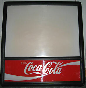 Vintage Rare Coca Cola Wall Hanging Lighted Sign