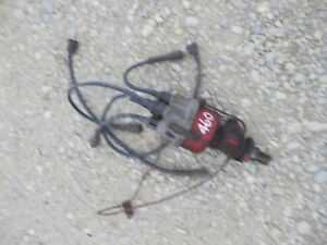 Farmall Ih 560 460 Tractor Engine Motor Distributor Working Tachometer Drive
