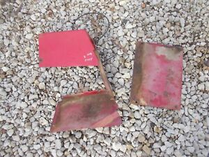 International Farmall 504 Utility Tractor Ih Battery Cover Panel Panels Rare