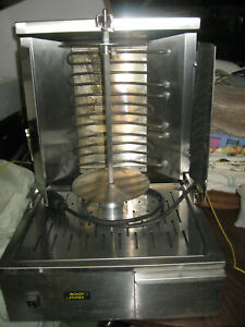 Equipex Gr40e Commercial Electric Vertical Broiler Gyros Grill