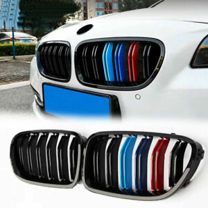 3 color Look M5 Front Kidney Grille Fit For Bmw Grill F10 528i 535i 550i 2010 16
