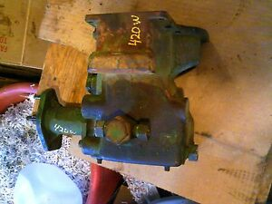 John Deere 420w 420 W Tractor Jd Main Rear 3pt Hydraulic Lift Assembly Valve Box