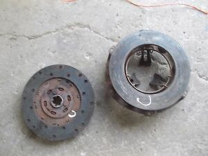 Farmall C Tractor Ih Working Engine Motor Clutch Pressure Plate Assembly