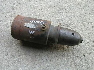 Farmall M Early Sm Tractor Ih Original Good Working 6v Starter
