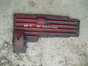Farmall International 656 Hydro Tractor Ih Bottom Torque Tube Cover Panel