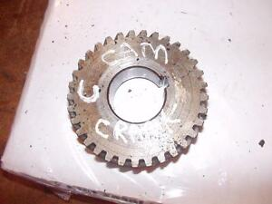 Farmall C Ih Tractor Engine Crankshaft To Cam Gear