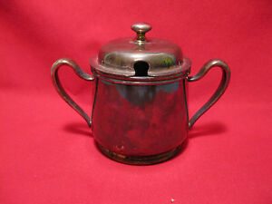 Epns Silver Plated Sugar Bowl Item A029