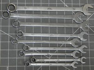 Mac Tools 9 Of 10pc Metric Long Combination Wrench Set 10mm 19mm 12pt No 16mm