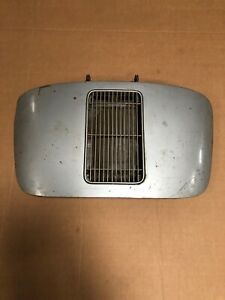 Porsche 356 Engine Deck Lid With Hinges And Grille