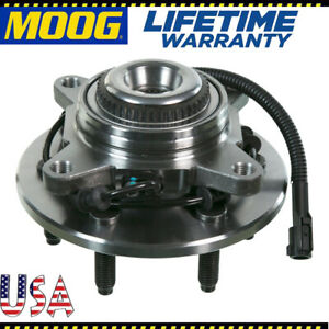 Moog New Front Wheel Hub And Bearing Assembly For 04 08 F 150 Abs 4wd 4x4