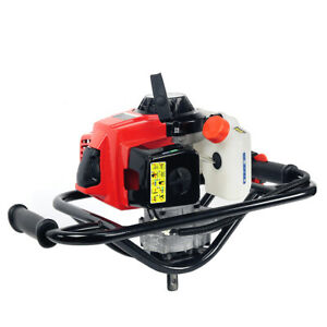 63cc 2 stroke Gasoline Gas One Man Post Hole Digger Auger Machine 2 5hp Epa