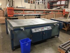 M r Patriot Large Format Automatic Screen Printing Press 52 X 82