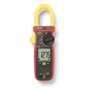 Amprobe Amp 220 600v 600a True rms Ac dc Clamp Multimeter With Amp tip