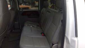 2006 Ford F350sd Rear Gray Leather Bench Seat