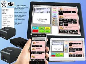Restaurant Bar Pos System Point Of Saleregister Order Printer isnt Aldalo