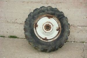 Ford 900 Tractor Rear Wheel Firestone 14 9x28 Tire On Power Adjust Rim