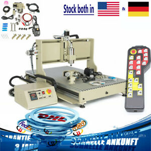 4 Axis 2 2kw Cnc 6090 Router Engraver Machine Usb Vfd 3d Cutter L w h Off To 5