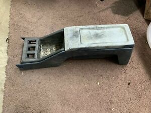 84 85 86 87 88 89 Toyota 4runner Truck Pickup Blue Center Console Lower Section
