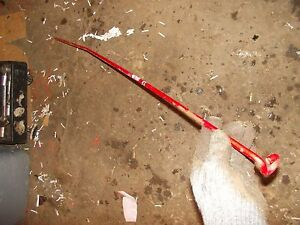 Farmall H Early Sh Tractor Ih Hydraulic Belly Pump Control Linkage Rod