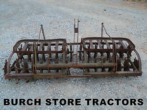 3 Point Hitch Rolling Spike Disc Harrow Aerator
