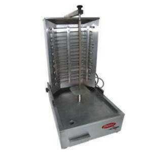 Skyfood Vbgm 36 Electric Gyro Machine Vertical Charbroiler 75 Lbs 35 5 H 220