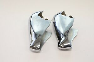 Vintage Ford Bumper Guard Car Rat Hot Rod Front Back Chrome Pair