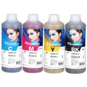 Inktec Sublimation Ink sublinova Rapid Set 4liters