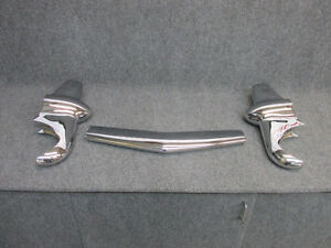 1951 Mercury Front Bumper Guards fresh Chrome Fast Shipping
