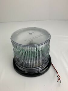 Whelen 2015 Series Strobe Beacon Clear New Open Box 2015lpc
