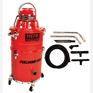 Pullman Ermator 86asb Hepa Wet Dry 5 Gallon Vacuum With Tool Kit