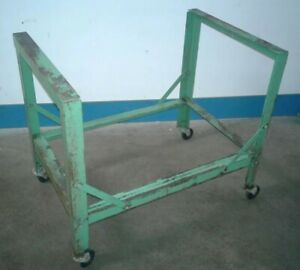 Heavy Duty Portable Floor Stand 33 25 x 22 5 x 29 75 Used With Potdevin Gluer