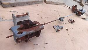 1949 Buick Roadmaster Left Hood Latch Release Hinge Assembly Original Gm Catch