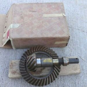 Nos 1940 1952 Chevy Rear End Ring Gear Pinion 11 41 Original Gm High Speed Oem