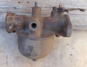 1920 1927 Model T Ford Nh Straight Through Carburetor Original Holley